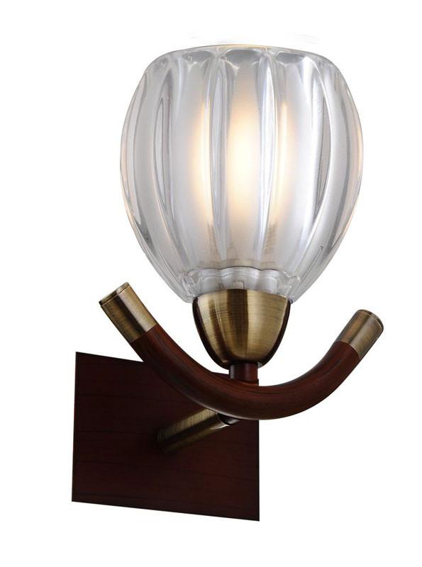 где купить N-Light 407-01-51ABWBB antique brass + walnut по лучшей цене