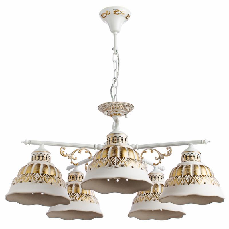 ARTE Lamp A2814LM-5WG подвесная люстра arte lamp chiesa a2814lm 5wg