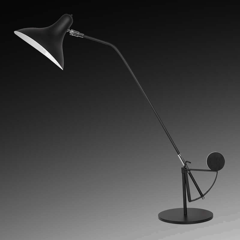 Lightstar 764907 (MТ14003041-1А) Настольная лампа MANTI 1х40W E14 Black, шт lightstar 764604 mв14003041 1а бра manti 1х40w e14 chrome шт