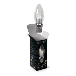 Gauss Лампа 3W E27 2700K Gauss светодиодная свеча для хрустальных люстр (прозрачная) лампа светодиодная gauss none gu5 3 7вт 220в 2700 k 101505107