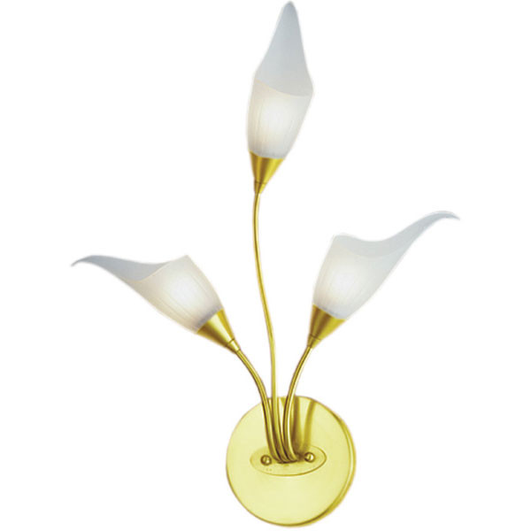 N-Light BX-0143/3 satin gold бра n light janna bx 0143 3 satin chrome