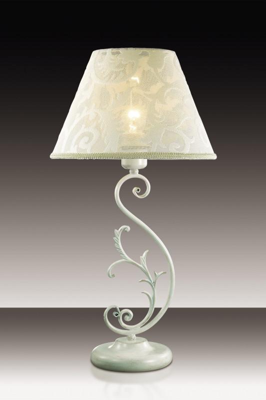 Odeon Light 2680/1T ODL15 237 белый/абажур ткань Н/лампа E27 60W 220V URIKA