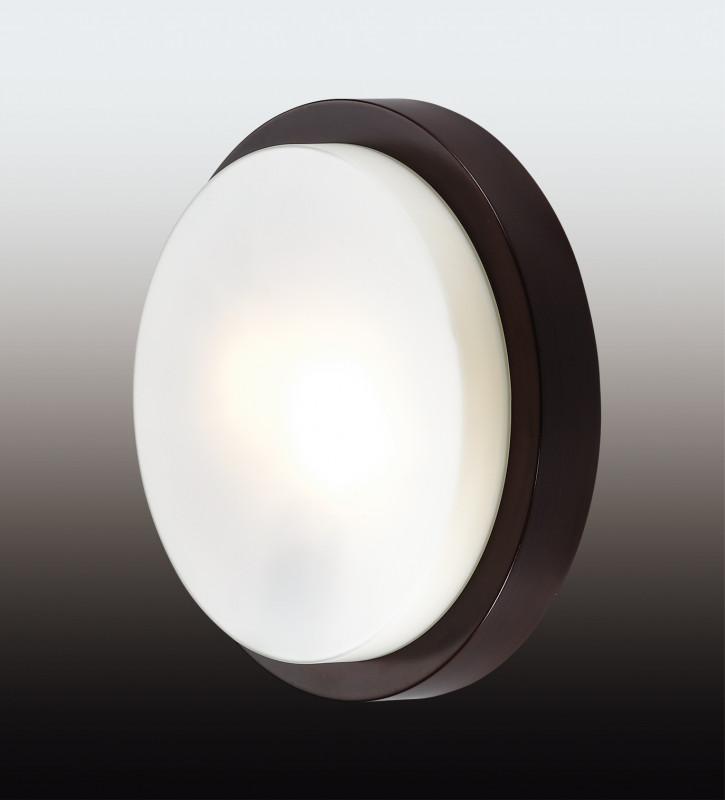 все цены на Odeon Light 2744/2C ODL15 866 венге/стекло Н/п светильник IP44 E14 2*40W 220V HOLGER