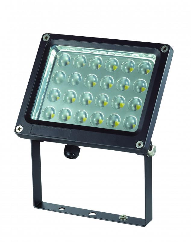 Novotech 357190 NT15 048 чёрный Накладной светильник IP65  24LED*1W 24W 220V ARMIN