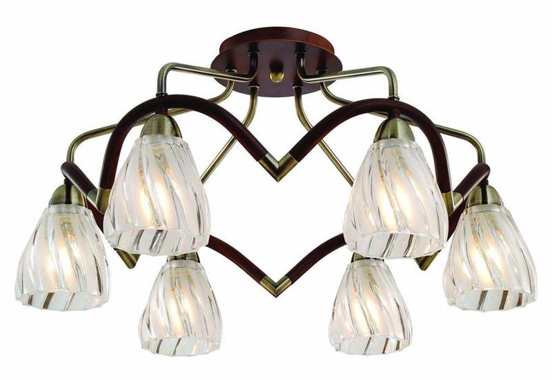 где купить N-Light 407-06-53ABW antique brass + walnut по лучшей цене