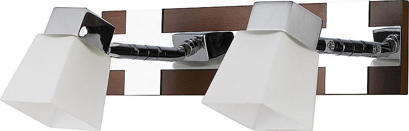 цена на N-Light 6200/2G9 chrome + brown wood