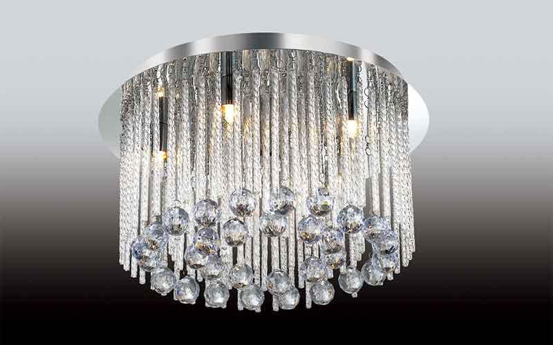 Odeon Light 2708/6C ODL15 367 хром/хрусталь/стекло Люстра потолочная G9 6*40W 220V ESIPA брелок g 367 r