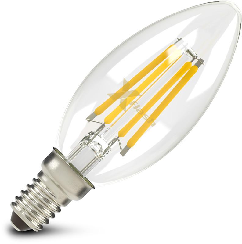 Фото X-Flash Светодиодная лампа X-flash XF-E14-FL-В35-4W-2700K-230V (арт.47611). Купить с доставкой