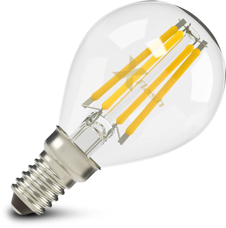 X-Flash Светодиодная лампа X-flash XF-E14-FL-P45-4W-2700K-230V (арт.47635) конденсатор ceramic capacitor assorted kit smd 0805 0 5pf 10uf 92values 50 4600pcs smd 0805 0 5pf 10uf