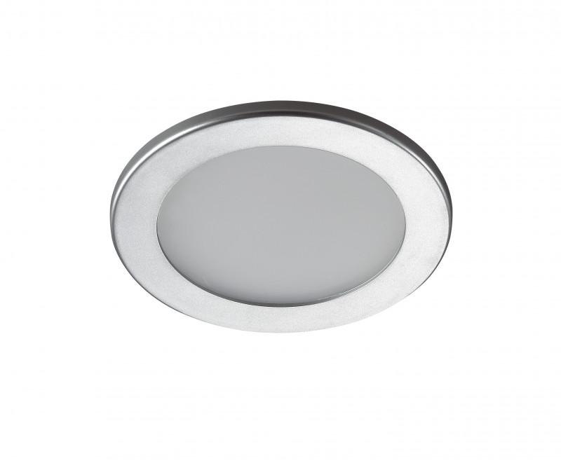 Novotech 357170 NT15 342 серый Встраиваемый светильник IP20 18LED 9W 220V LUNA встраиваемый светильник luna 357170