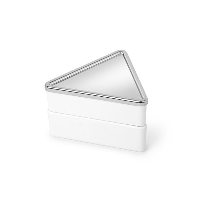 Umbra Шкатулка для украшений trinity белая орагайзер для украшений curio низкий белый 1125831