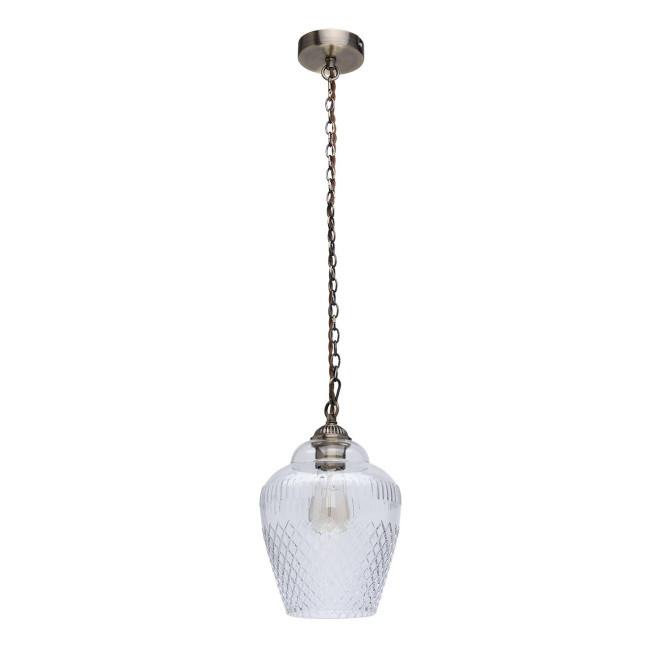 MW-Light 481012001 Аманда бра аманда 1 х 60вт e27 220в бронза антик стекло подвеска