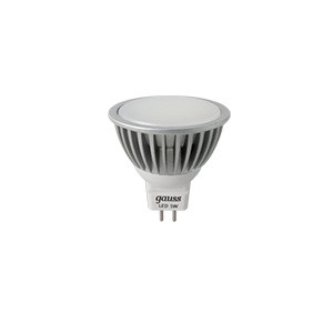 Gauss Лампа MR16 5W GU5.3 4100K AC220-240V FROST Gauss LED