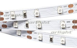 Arlight Лента 5 метров RT 2-5000 12V Yellow (3528, 300 LED, LUX) arlight лента rt 2 5000 24v s cool 5mm 2x 3528 600led lux