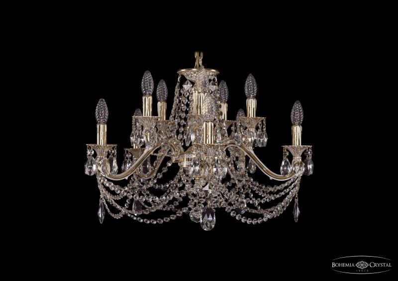 Bohemia Ivele Crystal 1703/10/225/C/GW bohemia ivele crystal люстра bohemia ivele crystal 1703 10 225 c gw