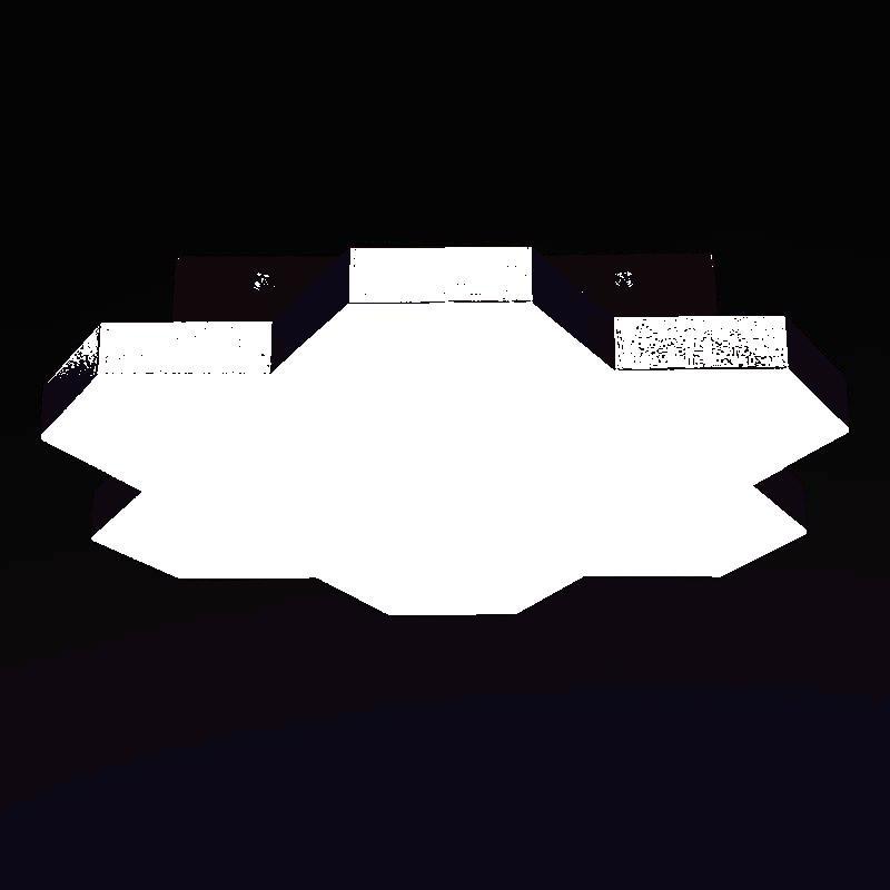 Lightstar 750073 (MX13003032-7А) Люстра потол FAVO LED-35W 1680LM Satin Gold 4200K, шт lightstar люстра lightstar torcia 10х40w g9 белый ls 780100