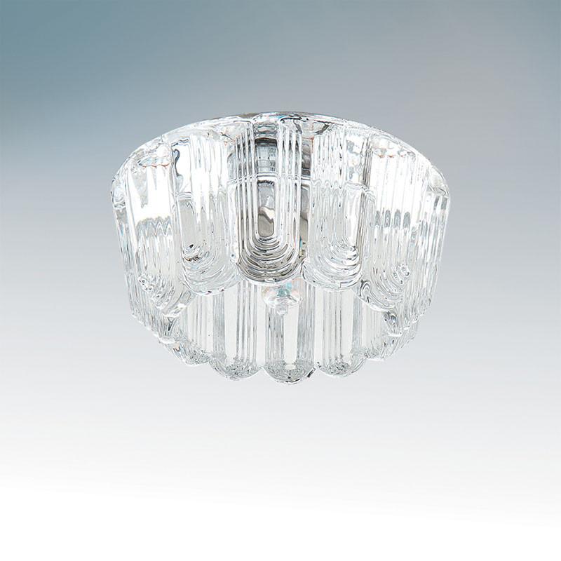 Lightstar 004354*** Светильник STRATO G9 ХРОМ/ПРОЗРАЧНЫЙ, шт