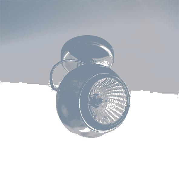 Lightstar 110544 Светильник OCCHIO FABI RIFLESSO HP16 ХРОМ/ХРОМ, шт цена и фото