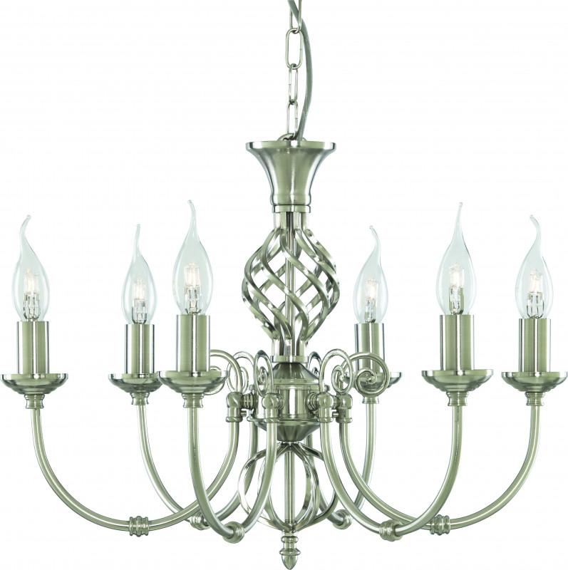 ARTE Lamp A8392LM-6SS люстра потолочная ��оллекция zanzibar a8392lm 6ab бронза arte lamp арте ламп