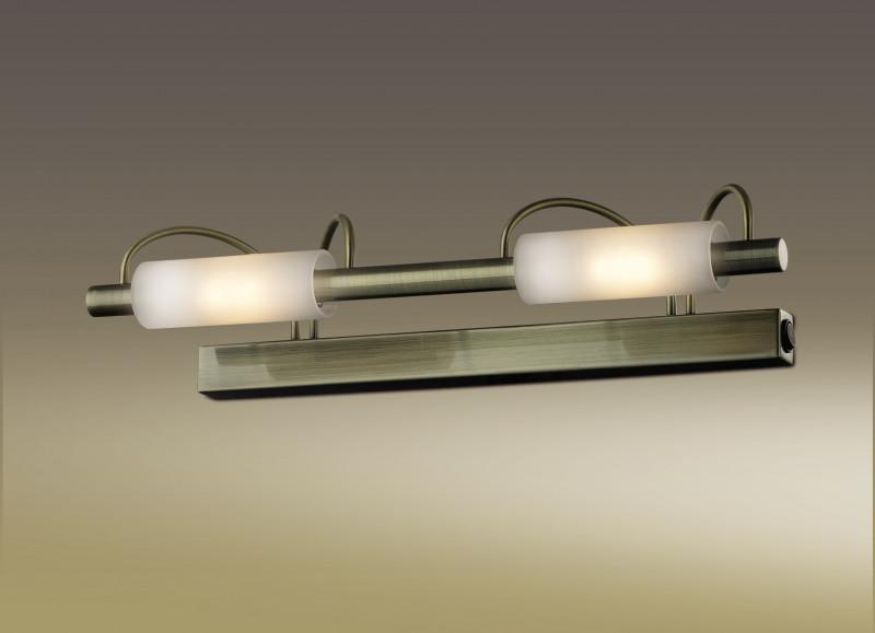 Odeon Light 2035/2W ODL11 845 бронза Настенный светильник  R7s 2*100W 220V WIRON odeon light бра wiron 2035 3w
