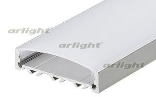 Arlight Профиль с экраном 2 метра ALU-SUPER-H10-2000 ANOD+FROST arlight профиль с экраном 2 метра alu stair d 2000 anod frost