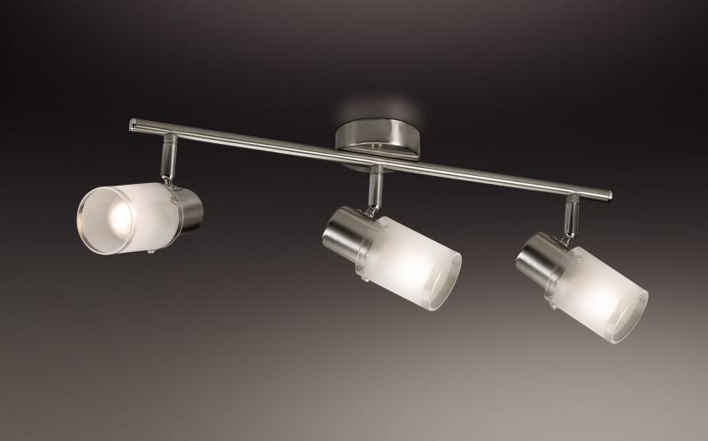 Odeon Light 2175/3W ODL11 789 матовый никель Подсветка E14 3*40W 220V PARFE odeon light 2217 3w odl12 815 хром хрусталь подсветка с выкл g9 3 40w 220v loden