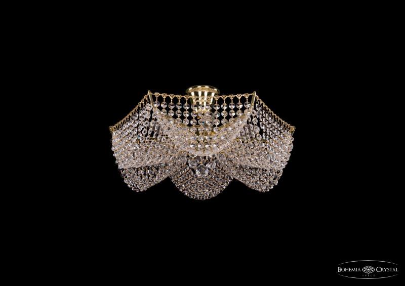 Bohemia Ivele Crystal 7708/6/G потолочная люстра bohemia ivele 7708 gold арт 7708 6 g