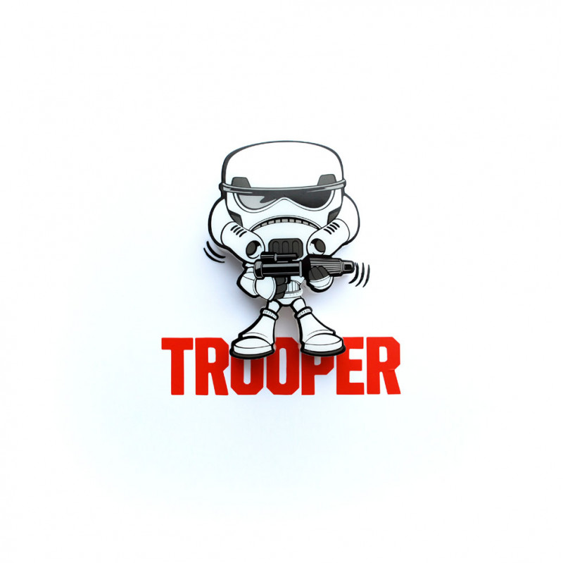 3DLIGHT Светильник ночник детский StarWars (Звёздные Войны)-Stormtrooper (Штормтрупер) игровой аксессуар с детскую 3d ночник starwars звёздные войны йода