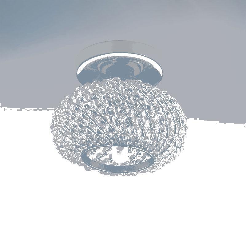 Lightstar 160302 Светильник MONILE TOP CR G9 ЗОЛОТО/ПРОЗРАЧНЫЙ, шт lightstar 004514 g9 светильник bomo cr g9 хром прозрачный шт