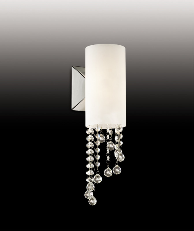 Odeon Light 2571/1W ODL13 548 хром/стекло/хрусталь Бра  G9 40W 220V NOTTS odeon light notts 2571 6