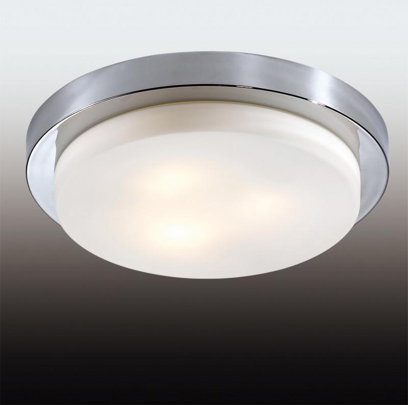 Odeon Light 2746/3C ODL15 867 хром/стекло Н/п светильник IP44 E14 3*40W 220V HOLGER светильник потолочный odeon light holger 3 х e14 40w 2745 3c