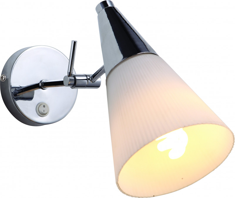 ARTE Lamp A9517AP-1CC спот brooklyn 1x60вт e14 стекло металл
