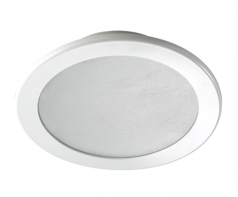 Novotech 357177 NT15 341 белый Встраиваемый светильник IP20 36LED 18W 220V LUNA