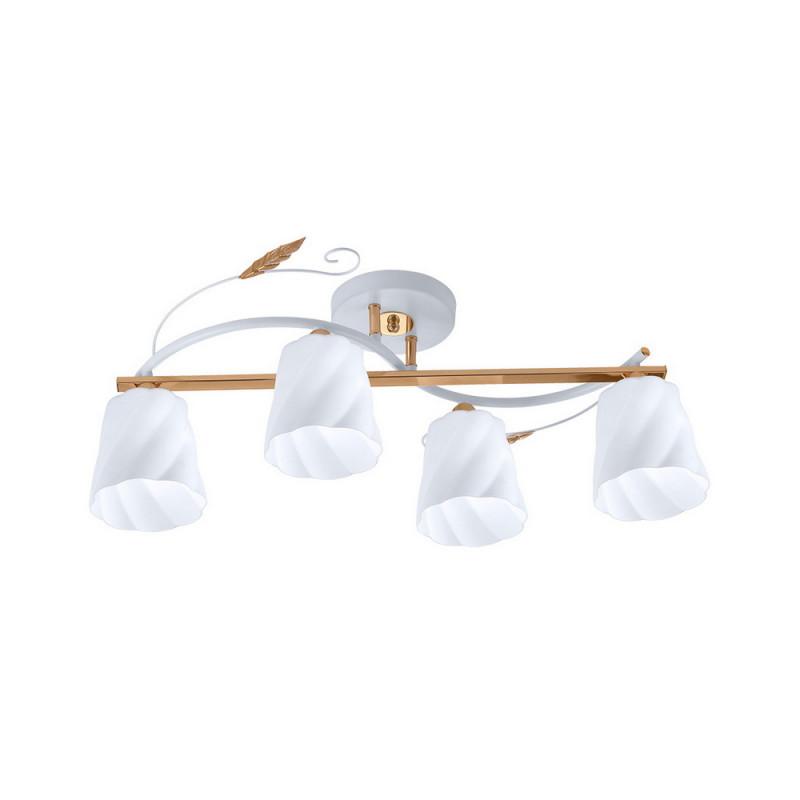 IDLamp 380/4PF-Whitegold потолочная люстра idlamp 380 4pf whitegold