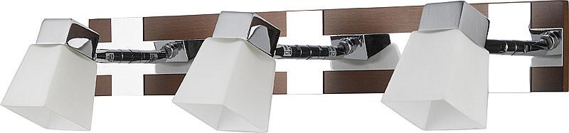 цена на N-Light 6200/3G9 chrome + brown wood