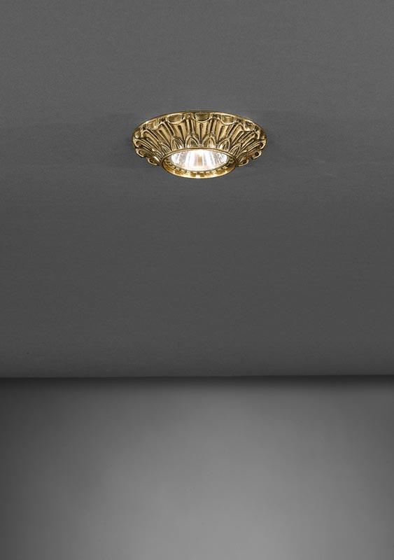 Reccagni Angelo SPOT 1077 ORO встраиваемый светильник reccagni angelo spot 1077 oro
