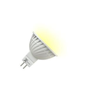 X-Flash Светодиодная лампа XF-MR16-P-GU5.3-5W-3000K-12V X-flash лампочка x flash spotlight mr16 xf spl l gu5 3 6w 3000k 12v желтый свет линза 43507