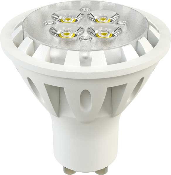 X-Flash Светодиодная лампа XF-SPL-L-GU10-6W-3000K-220V X-flash лампочка x flash spotlight mr16 xf spl l gu5 3 6w 3000k 12v желтый свет линза 43507