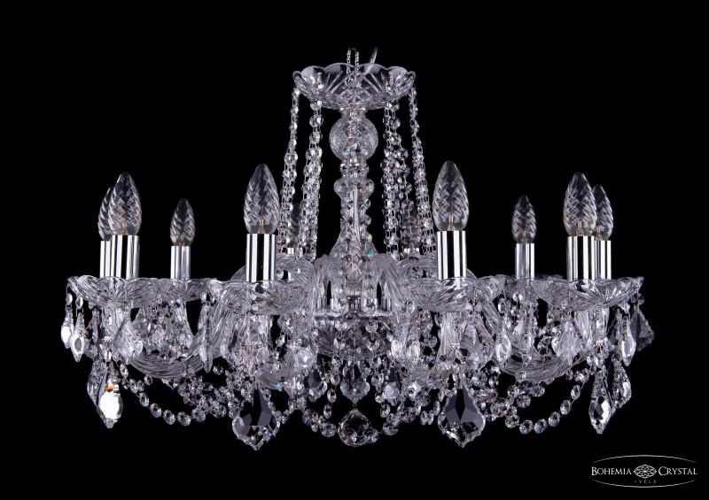 Bohemia Ivele Crystal 1402/10/240/Ni/Leafs bohemia ivele crystal 1402 8 195 ni leafs