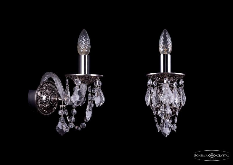 Bohemia Ivele Crystal 1610/1/NB/Leafs bohemia ivele crystal бра bohemia ivele crystal 1610 2 nb