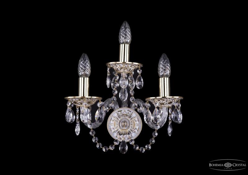 Bohemia Ivele Crystal 1610/3/GW bohemia ivele crystal бра bohemia ivele crystal 1610 1 gw