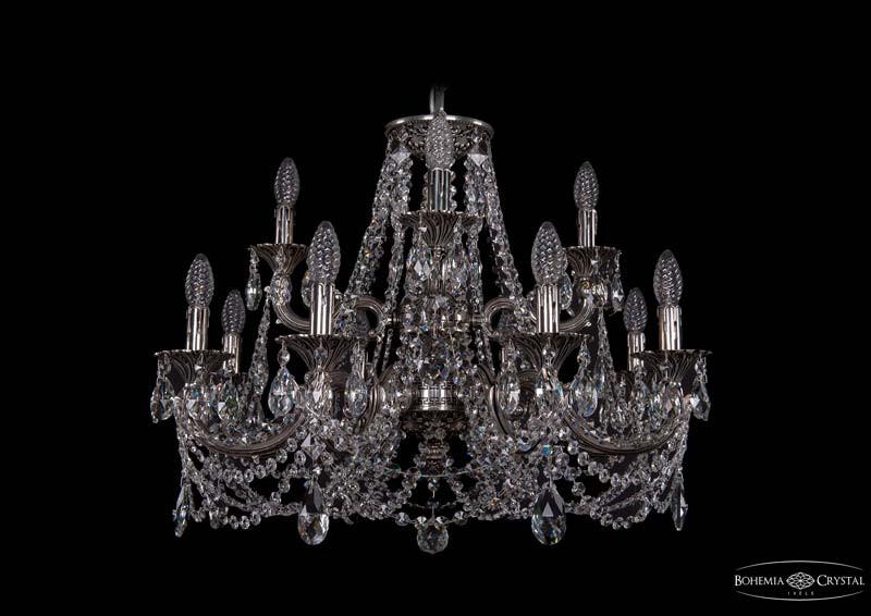 Фото Bohemia Ivele Crystal 1722/8+4/250+175/C/NB. Купить с доставкой