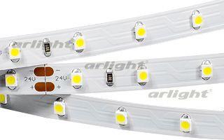 Arlight Лента RT 2-5000 24V Warm (3528, 300 LED, S-LUX) arlight лента rt 2 5000 12v s cool 5mm 2x 3528 600led lux