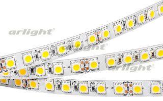 Arlight Лента 5 метров RT6-5050-96 24V White 3x (480 LED)