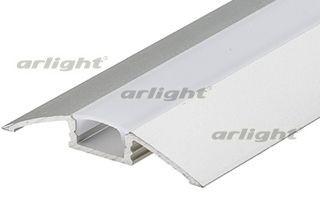 Arlight Профиль с экраном ALU-FLAT-2000 ANOD+FROST