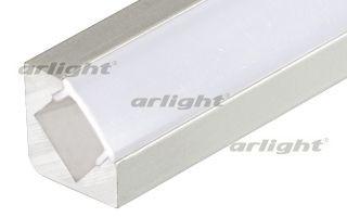 Arlight Профиль с экраном 2 метра ALU-D45-2000 ANOD+FROST arlight профиль с экраном 2 метра alu stair d 2000 anod frost