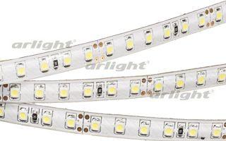 Arlight Лента RTW 2-5000SE 24V White 2x(3528, 600 LED,LUX) лента arlight 021412