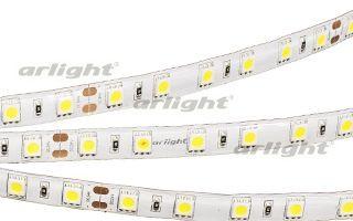 Arlight Лента 5 метров RTW 2-5000SE 24V White 2x (5060, 300 LED, LUX) arlight лента rtw 2 5000pw 24v white 2x 5060 300led lux
