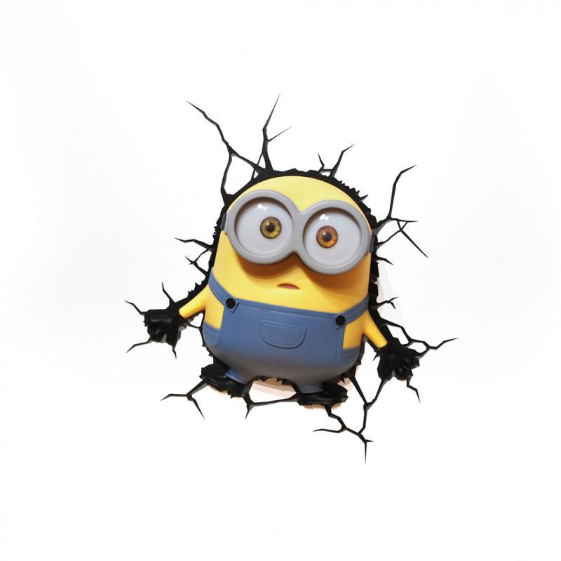 3DLIGHT Светильник  ночник детский Minions-Bob (Боб) детский ночник 50028 3dlight