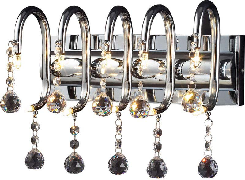 N-Light 06 2310 0181 10 chrome, white crystal ASFOUR люстра накладная 06 2484 0333 24 gold amber and white crystal n light